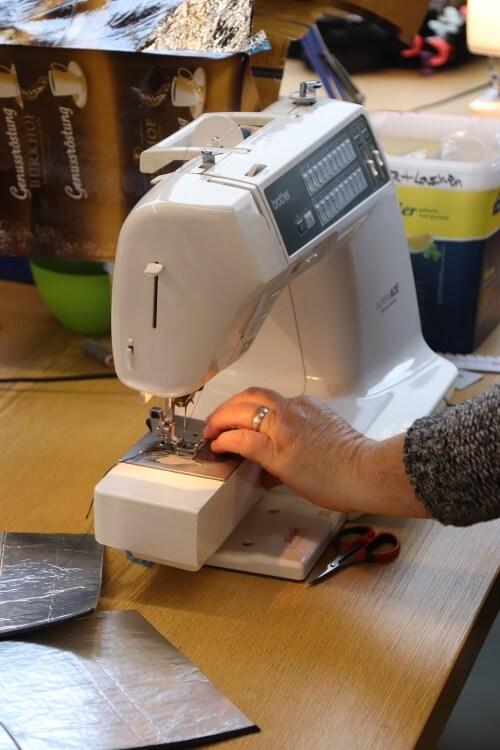 Näharbeiten und Handarbeit bei der Donauwerker GmbH